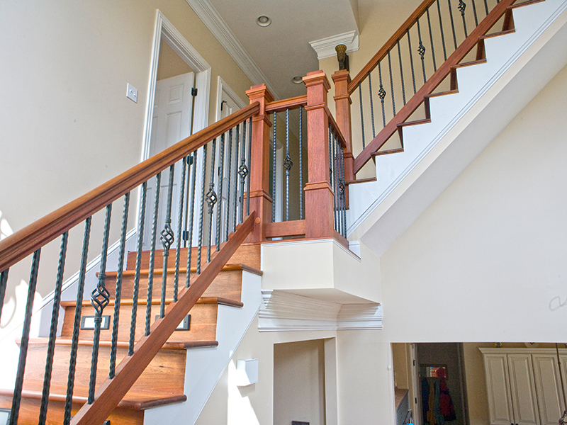 Designer Wrought Iron Handrails