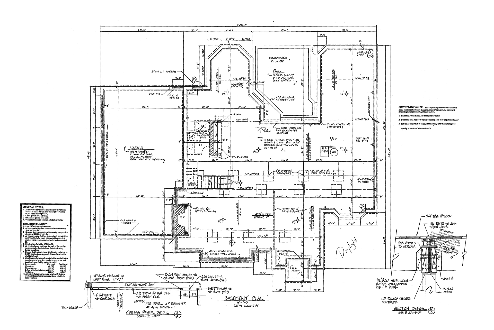 Whispering Pines Plans